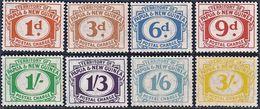 + PAPUA NEW GUINEA : Mi Porto #7-14 Yv Taxe #6-13 SG #D7-14 Postage Due / Porto (1960) MNH ** Neufs [SALE] - Papua New Guinea