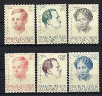 Luxembourg  -  Timbres 1939   Postfrisch **  MNH   KW 50,00 € - Blocs & Feuillets