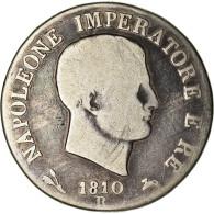 Monnaie, États Italiens, KINGDOM OF NAPOLEON, Napoleon I, 5 Lire, 1810 - Napoleonic