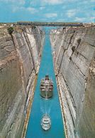 Grèce, Corinthe, Le Canal - Greece