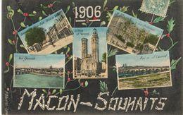 71 - MACON - SOUHAITS 1906 - Macon