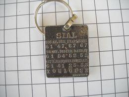 1149 Porte Clefs SIAL PEUGEOT TALBOT Toulouse 31 105 Av Etats Unis, Av Didier Daurat,  Rue Vauquelin Mirail Simca - Key-rings