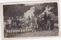 43768 -   Ecole  Primaire De Salm-Chateau  En Excursion à  Coo  Trois-ponts  Carte  Photo - Non Classés