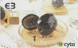 Cyprus, CYP-C-179, 0109CY,   Preserved Sweets, Walnut, 2 Scans. - Cyprus