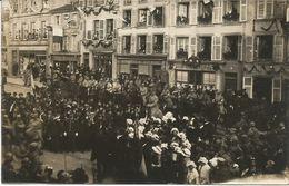 MORHANGE   ****  Défilé Du 77ème D'infanterie    *** Carte-photo  Animée - Morhange