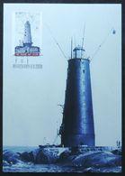 Cartes Maximum - Phares De Bogskär, Kokarsören, Marhällan, Gustaf Dalén, îles Åland (Lighthouses Åland Islands, Finland) - Leuchttürme