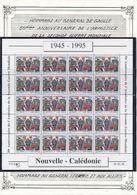NOUVELLE CALEDONIE - N°686 NEUF EN FEUILLE DE 20 50EME ANNIVERSAIRE DE LA FIN DE LA SECONDE GUERRE MONDIALE DE GAULLE - De Gaulle (General)