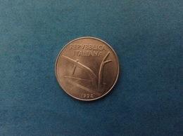 1992 ITALIA REPUBBLICA MONETA DA 10 LIRE SPIGHE FDC UNC DA ROTOLINO - 1946-… : Republiek