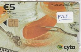 Cyprus, CYP-C-180, 0209CY,   Preserved Sweets, Rolled Bitter Orange, Mint In Blister, 2 Scans. - Cyprus