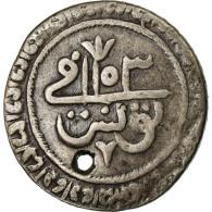 Monnaie, Tunisie, TUNIS, Mahmud I, 2 Kharub, AH 1153 (1740), TB+, Billon - Tunisia