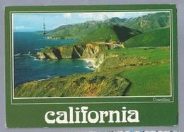 US.- CALIFORNIA. THE BIG SUR COASTLINE AND BIXBY BRIDGE. - Vereinigte Staaten
