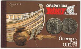 GUERNESEY - CARNET N° C575 ** (1992) Opération Astérix - Guernsey