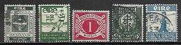 IRLANDE   -  1931 / 34.   .L O T .  Oblitérés. - 1922-37 État Libre D'Irlande