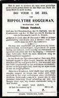 Lede, 1927, Hippolythe Roggeman, Rombaut - Images Religieuses