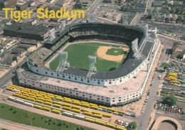MLB Detroit Tigers Stadium Detroit Michigan Baseball C1990s/2000s Vintage Postcard - Baseball