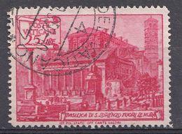 Vatikaan 1949  Mi.nr. 155   Basiliken   OBLITÉRÉS-USED-GEBRUIKT - Vatican