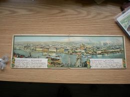 Panorama Von Budapest Litho Rosenberger 1899 - Hungary