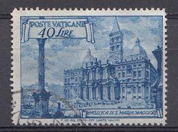 Vatikaan 1949  Mi.nr. 157   Basiliken   OBLITÉRÉS-USED-GEBRUIKT - Vatican