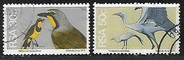 SOUTH AFRICA 1974 BIRDS PAIR - África Del Sur (1961-...)
