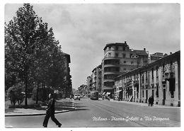 Milano - Piazza Gobetti E Via Porpora. Filobus. - Milano (Milan)