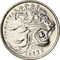 Monnaie, Éthiopie, 25 Cents, 2005, Royal Canadian Mint, SPL+, Copper-Nickel - Etiopía