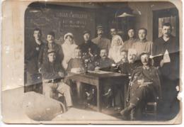 Guerre 1914-1918 - SALLE CASTELNAU 1915 Hôpital SEINE SAINT DENIS - LE RANCY Militaire Infirmière  - Photo 9x13cm ETAT ! - Guerra, Militari