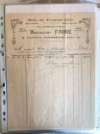 Bois De Construction - Barthélémy Fabre - Caunes-Minervois 192 ? - 1900 – 1949