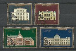 LETTLAND Latvia 1995 Michel 410 - 413 Riga O - Lettland