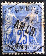 Cachet Convoyeur Station - BRETEUIL - OISE - Ligne Amiens à Creil ( AM.CR) N° 28 - Indice 11 - 1877-1920: Periodo Semi Moderne