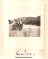 Foto Photo ( 7 X 8 Cm) Waulsort 1950 - Hastière