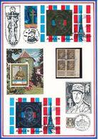 AJMAN/FUJEIRA - BLOC EN OR + BLOC EN ARGENT + BLOC OBLITERE NEUFS GENERAL DE GAULLE - De Gaulle (General)