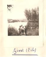 Foto Photo ( 7 X 8 Cm) Givet 1950 - Hastière