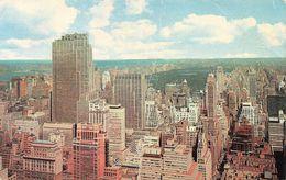 NEW YORK CITY - ROCKEFELLER CENTER AND CENTRAL PARK - New York City