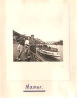 Foto Photo ( 7 X 8 Cm) Namur Boot Bateau 1950 - Namen