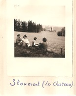 Foto Photo ( 7 X 8 Cm) Stoumont ( Le Chateau ) 1950 - Stoumont