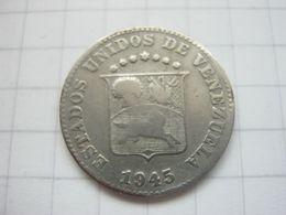 Venezuela , 5 Centimos 1945 - Venezuela