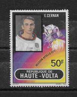 Mission Apollo XVII Poste Aérienne N° 130 ** TTBE - Haute-Volta (1958-1984)