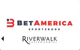 Riverwalk Casino - Vicksburg, MS - Hotel Room Key Card - Hotel Keycards