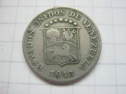 Venezuela , 5 Centimos 1948 - Venezuela