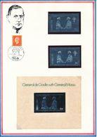 MAGALAND - TIMBRE DENTELE + TIMBRE NON DENTELE + BLOC NON DENTELE NEUFS GENERAL DE GAULLE - De Gaulle (General)