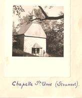 Foto Photo ( 7 X 8 Cm) Chapelle St Anne ( Stoumont )  1950 - Stoumont