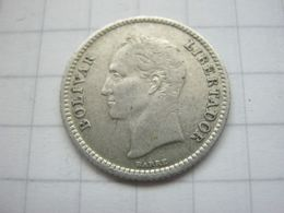 Venezuela , 25 Centimos 1954 - Venezuela