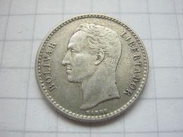 Venezuela , 50 Centimos 1954 - Venezuela