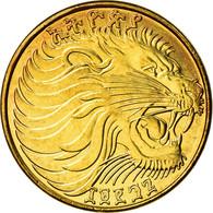 Monnaie, Éthiopie, 5 Cents, 2004, SPL+, Brass Plated Steel, KM:44.3 - Etiopía