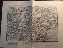 Supplément De L'Eclaireur De Nice - Plan-Carte Lombardie Et Venetie (Italie)- Journal, 06, Nice, Alpes Maritimes - Other