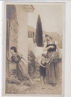 Les Stations Du Calvaire à Vance. Peinture De A. Hirsch. Carte Photo - Schilderijen, Gebrandschilderd Glas En Beeldjes