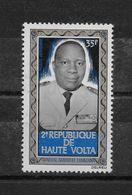 Général Sangoule LAMIZANA Poste Aérienne N° 98 ** TTBE - Haute-Volta (1958-1984)