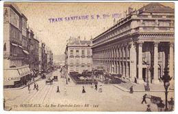 BORDEAUX (33) - Train Sanitaire S.P. 5 Bis Midi - War 1914-18