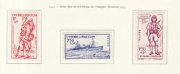 Saint Pierre & Miquelon 1941 Y&T N°207 à 209 - Michel N°210 à 212 * - Défense De L'empire - St.Pierre & Miquelon