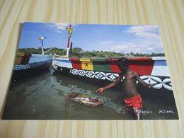 Boubélé (Côte D'Ivoire).Jeu D'un Jeune Pêcheur Fanti. - Ivory Coast
